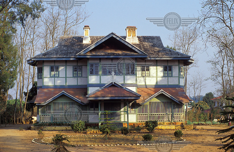 1930s house in the English style in this Hill Station where colonial staff once escaped the summer heat of the plains.