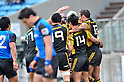Suntory Sungoliath Team Group , .FEBRUARY 26, 2012 - Rugby : Japan Rugby Top League 2011-2012,Play Off Tournament Final .match between Suntory Sungoliath 47-28 Panasonic Wild Knights at Chichibunomiya Rugby Stadium, Tokyo, Japan. (Photo by Jun Tsukida/AFLO SPORT) [0003] .