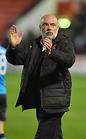 Fleetwood Town's Manager Uwe Rosler applauded the fans<br /> <br /> Photographer Dave Howarth/CameraSport<br /> <br /> The EFL Sky Bet League One - Walsall v Fleetwood Town - Tuesday 14th March 2017 - Banks's Stadium - Walsall<br /> <br /> World Copyright &copy; 2017 CameraSport. All rights reserved. 43 Linden Ave. Countesthorpe. Leicester. England. LE8 5PG - Tel: +44 (0) 116 277 4147 - admin@camerasport.com - www.camerasport.com