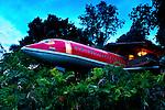 Costa Rica, Quepos, Manuel Antonio,  Hotel Costa Verde Resort, 1965 Boeing 727 Hotel