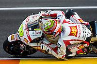 Alvaro Bautista in last qualifying laps