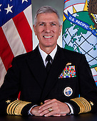 United States Navy Admiral Admiral Samuel J. Locklear III,  commander, U.S. Pacific Command (USPACOM) poses for his official photo March 7, 2012 aboard Camp H.M. Smith. Locklear is a 1977 graduate of the United States Naval Academy.  His career as a Surface Warfare Officer includes assignments aboard USS William V. Pratt (DDG 44), USS Carl Vinson (CVN 70), USS Callaghan (DDG 994), and USS Truxtun (CG 35), culminating in command of USS Leftwich (DD 984).  Subsequent command assignments include Commander, Destroyer Squadron TWO, Commander, NIMITZ Strike Group, Commander, U.S. THIRD Fleet, and Commander, U.S. Naval Forces Europe, U.S. Naval Forces Africa, and Allied Joint Force Command Naples. Ashore, he served as Executive Assistant to the Vice Chief of Naval Operations, the 78th Commandant of Midshipmen, United States Naval Academy, Director, Assessment Division (OPNAV N81), Director, Programming Division (OPNAV N80), and as Director, Navy Staff. He is a 1992 graduate of the Industrial College of the Armed Forces, and holds a master's degree in Public Administration from the George Washington University. His current posting is the Commander, U.S. Pacific Command, Camp H.M. Smith, Hawaii.  Locklera's personal decorations include the Defense Distinguished Service Medal, Distinguished Service Medal with one gold star, Defense Superior Service Medal, Legion of Merit with four gold stars, Bronze Star Medal, and numerous individual, Campaign and Unit awards..Mandatory Credit: Demetrius Munnerlyn / U.S. Navy via CNP
