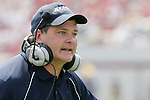 9 September 2006: Akron head coach J.D. Brookhart. Akron defeated North Carolina State 20-17 at Carter-Finley Stadium in Raleigh, North Carolina in an NCAA college football game.