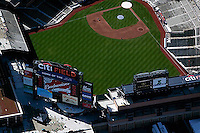 aerial photograph Citi Field stadium baseball park Queens, New York City