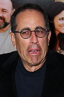 "NEW YORK, NY - SEPTEMBER 16: Jerry Seinfeld arrives at the ""Enough Said"" New York Screening held at Paris Theater on September 16, 2013 in New York City. (Photo by Jeffery Duran/Celebrity Monitor)"