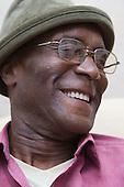 Elderly man smiling. MR