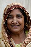 Pakistani woman in Punjab village...