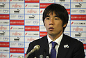 Naoki Soma (Frontale), MAY 15th, 2011 - Football : Kawasaki Frontale head coach Naoki Soma during the press conference after the 2011 J.League Division 1 match between Kawasaki Frontale 3-2 Kashima Antlers at Todoroki Stadium in Kanagawa, Japan. (Photo by Kenzaburo Matsuoka/AFLO).