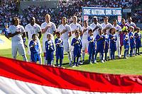 Carson, Calif. - Sunday, February 8, 2015: USMNT starting XI. The USMNT defeated Panama 2-0 in an international friendly at StubHub Center.