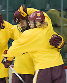 110408 - F4 University of Minnesota Duluth Bulldogs practice