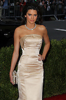 """NEW YORK CITY, NY, USA - MAY 05: Kendall Jenner at the """"Charles James: Beyond Fashion"""" Costume Institute Gala held at the Metropolitan Museum of Art on May 5, 2014 in New York City, New York, United States. (Photo by Xavier Collin/Celebrity Monitor)"""