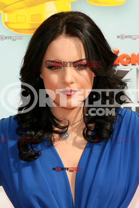 Elizabeth Gillies at Nickelodeon's 25th Annual Kids' Choice Awards at The Galen Center on March 31, 2012 in Los Angeles, California. &copy; mpi26/MediaPunch Inc. /NortePhoto<br />