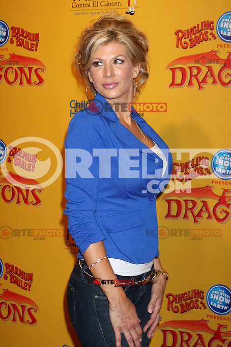 Alexis Bellino at the opening night of Ringling Bros. &amp; Barnum &amp; Bailey's 'Dragons' held at Staples Center on July 12, 2012 in Los Angeles, California. &copy;&nbsp;mpi27/MediaPunch Inc /*NORTEPHOTO*<br />