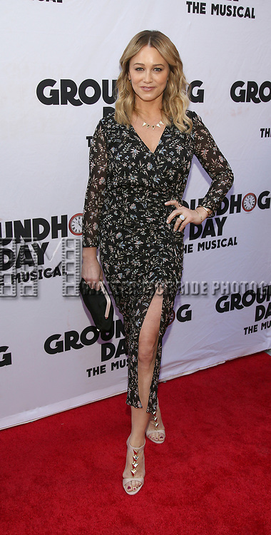 Christine Taylor attends the Broadway Opening Night performance of 'Groundhog Day' at the August Wilson Theatre on April 17, 2017 in New York City