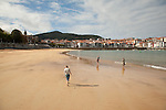 Lekeitio Beach, Basque Country, Spain