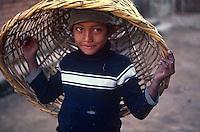 Children at play, Hadigau, Kathmandu, Nepal