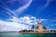 lighthouse (ornamental), .Boca Chita Key, .Biscayne National Park, Florida (Atlantic)