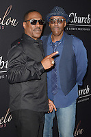HOLLYWOOD, CA - SEPTEMBER 06: Eddie Murphy and Arsenio Hall at the premiere of 'Mr. Church' at ArcLight Hollywood on September 6, 2016 in Hollywood, California. Credit: David Edwards/MediaPunch
