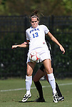11 October 2009: Duke's KayAnne Gummersall. The Duke University Blue Devils played the Florida State University Seminoles to a 0-0 tie after overtime at Koskinen Stadium in Durham, North Carolina in an NCAA Division I Women's college soccer game.