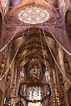 Altar by Gaudi, Cathedral, Palma, Mallorca - Majorca, Spain