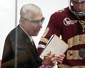 Jerry York (BC - Head Coach) - The Harvard University Crimson defeated the visiting Boston College Eagles 5-2 on Friday, November 18, 2016, at Bright-Landry Hockey Center in Boston, Massachusetts.{headline] - The Harvard University Crimson defeated the visiting Boston College Eagles 5-2 on Friday, November 18, 2016, at Bright-Landry Hockey Center in Boston, Massachusetts.