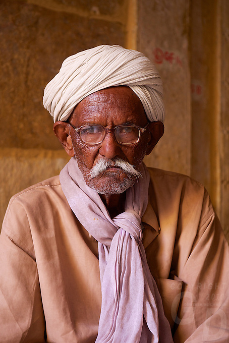 Man in the streets of Jaisalmer