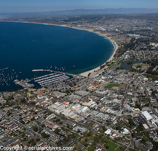 aerial photograph Monterey, California