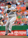 16 June 2006: Jaret Wright, pitcher for the New York Yankees, in action against the Washington Nationals at RFK Stadium, in Washington, DC. The Yankees defeated the Nationals 7-5 in the first meeting of the two franchises...Mandatory Photo Credit: Ed Wolfstein Photo...
