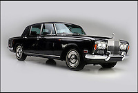 BNPS.co.uk (01202 558833)<br /> Pic: BarrettJackson/BNPS<br /> <br /> The car in black...<br /> <br /> A jet black Rolls Royce Silver Shadow which belonged to legendary country singer Johnny Cash has emerged for sale for a mystery sum.<br /> <br /> The plush British-built motor was gifted to Cash in 1970 by television network ABC when he was at the height of his fame.<br /> <br /> At the time, Cash - nicknamed the Man in Black because of his trademark black stage outfit - was the star of the network thanks to his successful weekly music variety show The Johnny Cash Show.<br /> <br /> Cash sold the 1970 long wheelbase Silver Shadow in the mid 1980s and it has since passed through the hands of several private collectors.<br /> <br /> It is going under the hammer with 32,000 miles on the clock at an auction in Las Vegas held by classic car specialists Barrett Jackson on September 25.
