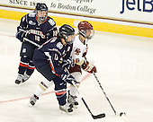 Stephanie Raithby (UConn - 10), Jennifer Chaisson (UConn - 13), Kelli Stack (BC - 16) - The Boston College Eagles defeated the visiting University of Connecticut Huskies 3-0 on Sunday, October 31, 2010, at Conte Forum in Chestnut Hill, Massachusetts.