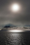 The fogbound, Arctic island of Parry&oslash;ya, or Parry Island, in the Sju&oslash;yane archipelago, northeastern Svalbard, named after the explorer William Parry, who explored the area in 1827. Parry&oslash;ya is 1000km from the North Pole, and 1600km north of the Arctic Circle.<br />