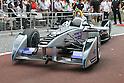 Formula E racing car demonstration in Tokyo