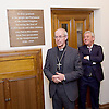 Kinderstransport plaque in Parliament, Westminster, London, Great Britain <br /> 27th January 2017 <br /> <br /> Chief Rabbi and Archbishop of Canterbury to mark Holocaust Memorial Day with Lord Dubs at rededication of Kindertransport plaque in Parliament<br />  <br /> 20 years ago the Committee of the Reunion of the Kindertransport donated a plaque to Parliament commemorating Britain&rsquo;s act of generosity to Jewish children in Nazi-occupied Europe. On Holocaust Memorial Day [27 January 2017], the plaque will be rededicated in the presence of newly arrived child refugees who were reunited with their families from Calais last year by Safe Passage, a project of Citizens UK. <br />  <br /> The ceremony will be particularly poignant as it will be attended by Lord Dubs, himself a Kindertransport survivor, who passed an amendment to the Immigration Act last year, with the Government's support, affording sanctuary in the UK to some of the most vulnerable lone child refugees in Europe.<br /> <br /> <br /> Archbishop of Canterbury, Justin Welby, <br /> <br /> <br /> <br /> <br /> <br /> Photograph by Elliott Franks