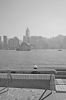 Lazy Kowloon afternoon watching the boats in Hong Kong harbour