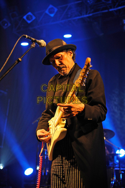LONDON, ENGLAND - February 21: Shuggie Otis performing at KOKO on February 21, 2016 in London, England.<br /> CAP/MAR<br /> &copy; Martin Harris/Capital Pictures