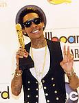 Wiz Khalifa at 2012 Billboard Music Awards Press Room at MGM Grand In Las Vegas May 20, 2012