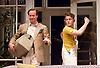 My Night with Reg <br /> by Kevin Elyot <br /> at the Apollo Theatre, London, Great Britain <br /> Press photocall<br /> 20th January 2015 <br /> <br /> Geoffrey Streatfeild as Daniel <br /> Lewis Reeves as Eric<br /> <br />  <br /> Photograph by Elliott Franks <br /> Image licensed to Elliott Franks Photography Services