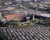 Oakland-Alameda County Coliseum and arena.<br />