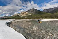 Packrafting the Matthews river, June, Arctic, Alaska