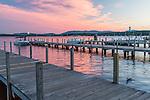 Lake Winnipesaukee in Wolfeboro, New Hampshire, USA