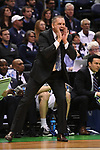 MILWAUKEE, WI - MARCH 18: Butler Bulldogs Head Coach Chris Holtmann yells to his team during the first half of the 2017 NCAA Men's Basketball Tournament held at BMO Harris Bradley Center on March 18, 2017 in Milwaukee, Wisconsin. (Photo by Jamie Schwaberow/NCAA Photos via Getty Images)