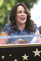 17 April 2017 - Hollywood, California - Patricia Heaton. Gary Sinise Honored With Star On The Hollywood Walk Of Fame.<br /> CAP/ADM<br /> &copy;ADM/Capital Pictures