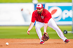28 February 2017: Washington Nationals infielder Daniel Murphy warms up prior to the inaugural Spring Training game between the Washington Nationals and the Houston Astros at the Ballpark of the Palm Beaches in West Palm Beach, Florida. The Nationals defeated the Astros 4-3 in Grapefruit League play. Mandatory Credit: Ed Wolfstein Photo *** RAW (NEF) Image File Available ***