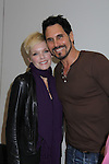 Young and Restless' Maura West poses with B&B Don Diamont at the Soapstar Spectacular starring actors from OLTL, Y&R, B&B and ex ATWT & GL on November 20, 2010 at the Myrtle Beach Convention Center, Myrtle Beach, South Carolina. (Photo by Sue Coflin/Max Photos)