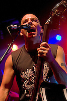 The Living End performing at the Queensbridge Hotel, Melbourne, 3 October 2010