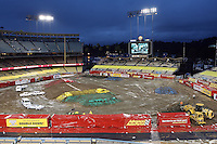 02/19/11 Los Angeles, CA: Monster Jam held at Dodger Stadium.