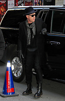 NEW YORK, NY - MARCH 13:  Ewan McGregor spotted arriving at 'The Late Show with Stephen Colbert'  where he's promoting 'T2: Trainspotting'  in New York, New York on March 13, 2017.  Photo Credit: Rainmaker Photo/MediaPunch