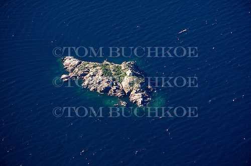 Granite Island, near Marquette, Lake Superior, Upper Peninsula of Michigan.