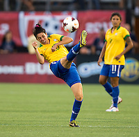 Bia.  The USWNT defeated Brazil, 4-1, at an international friendly at the Florida Citrus Bowl in Orlando, FL.