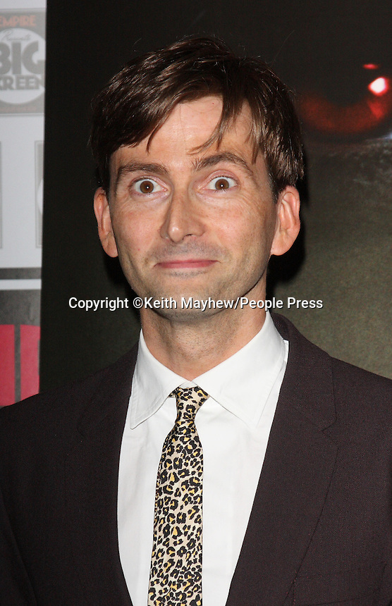 London - David Tennant at the UK Premiere of 'Fright Night' at the O2 Arena, London - August 14th 2011..Photo by Keith Mayhew.